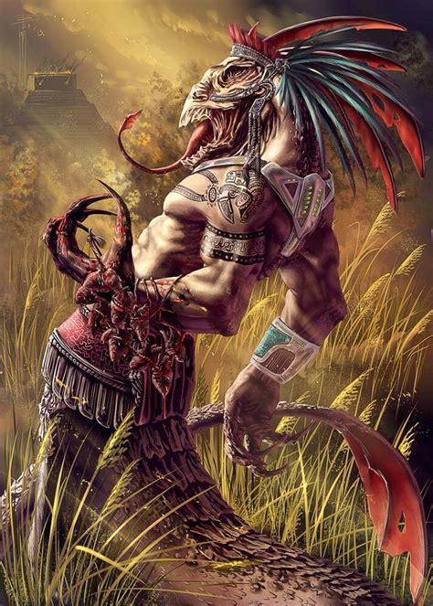 imagenes de aztecas mexicanos guerrero azteca mutado mexico pinterest creatures