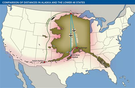 alaska map compared to us summary spill prevention and response in the u s