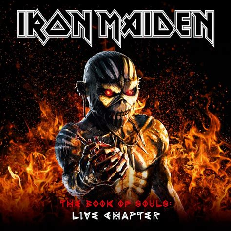Cd Iron Maiden The Book Of Soul 2cd Original iron maiden announce the book of souls live album nme