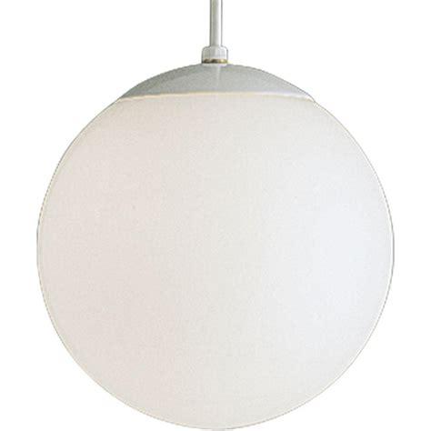 sea gull lighting hanging globe 1 light white pendant 6022