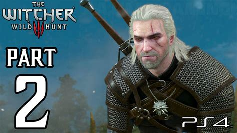 The Witcher 3 Hunt Walkthrough Part 2 Ps4 Gameplay
