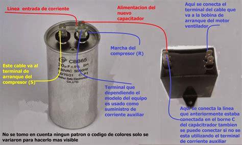 capacitor motor de arranque solucionado cambio de capacitor de arranque yoreparo