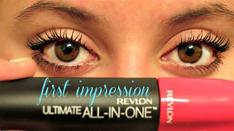 Revlon Ultimate All In One Mascara impression revlon ultimate all in one mascara