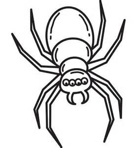 Spider Template by Spider Shape Template 55 Crafts Colouring Pages