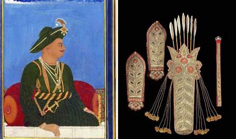 biography of tipu sultan arms and armour that belonged to an indian king up for