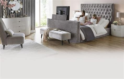 impulse king adjustable tv bed mattress dfs