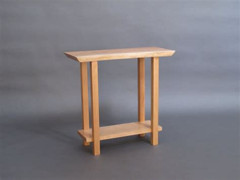 thin accent table narrow live edge side table small accent table narrow