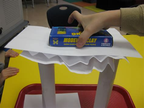 paper structure challenge paper bridge challenge design a structure capable of