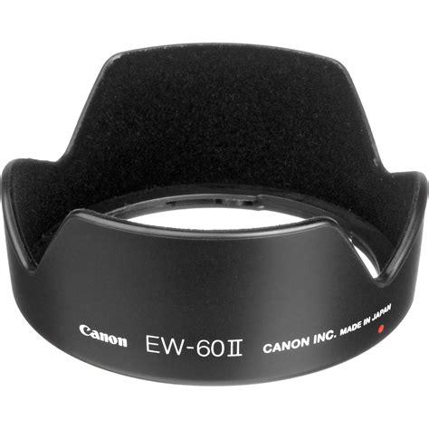 Lenshood Ew 60 Ii For Canon Ef S 55250 Is Ii Lensa 75 300 Tele Et 60 canon ew 60 ii lens 2640a001 b h photo