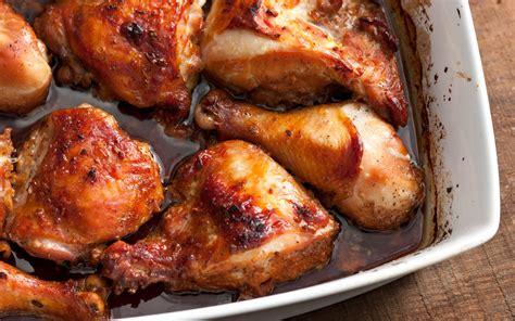 asian marinated baked chicken recipe chowhound