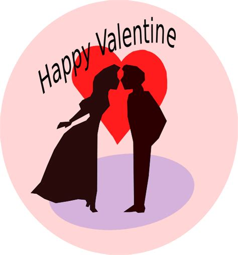 Happy Valentines Clipart happy clip at clker vector clip royalty free domain