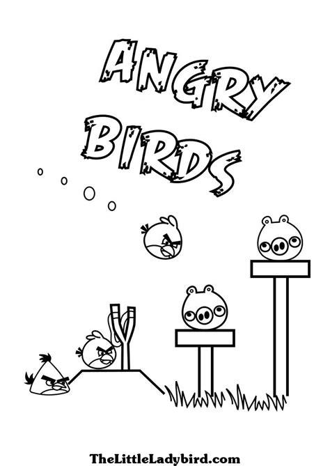 angry birds slingshot coloring page unique comics animation most useful angry birds coloring