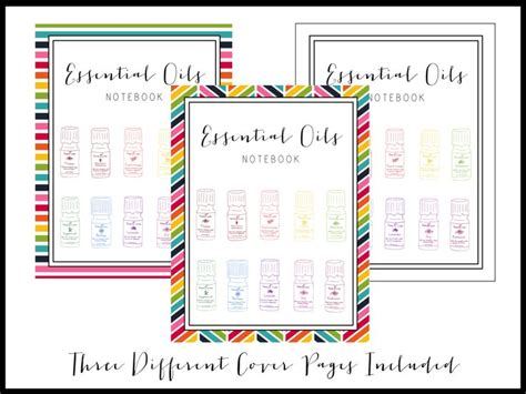 printable essential oil journal 1000 images about essential oil binder on pinterest