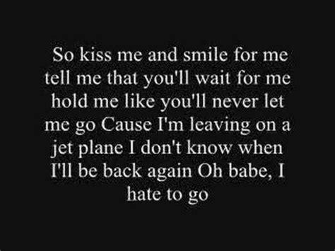 feels like home testo chantal kreviazuk leaving on a jet plane lyrics letras