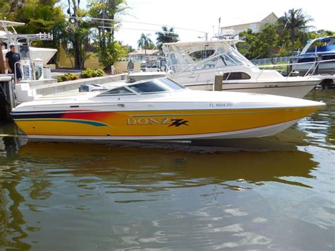 donzi boat exhaust donzi zx 1996 for sale for 24 900 boats from usa