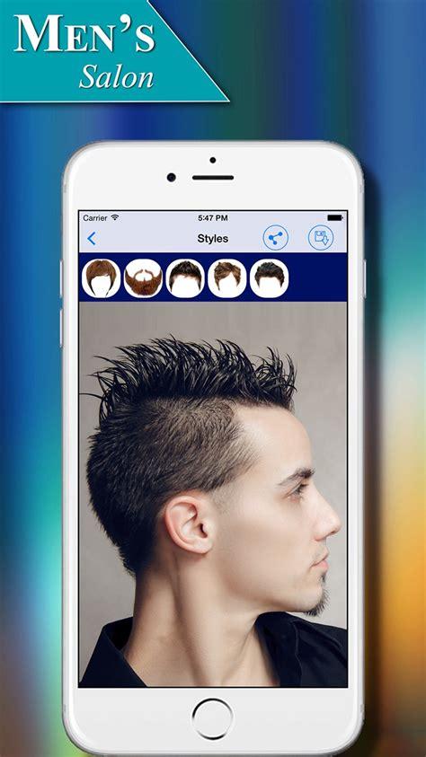 mens salon hairstyles app  ios