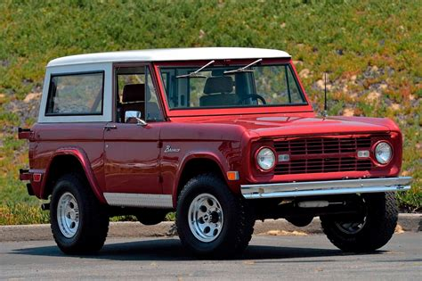 1968 Ford Bronco by This 1968 Ford Bronco Restomod Is A Clean No Fuss