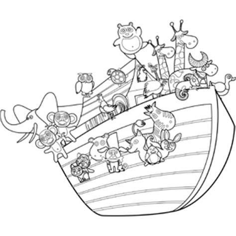 coloring pages animals noah s ark noah s ark with animals coloring page
