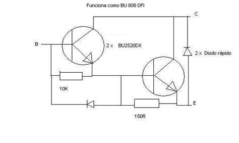 equivalencia do transistor a1013 substituto do ts bu808dfi 2 4 eletronica esquemas eletronica pt