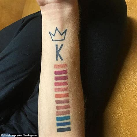 kylie jenner superfan gets sixth tattoo tribute inking kylie jenner superfan has a 7th tribute tattoo in honor of