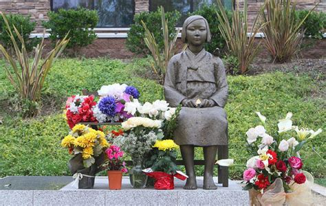 comfort women monument peace monuments in both koreas