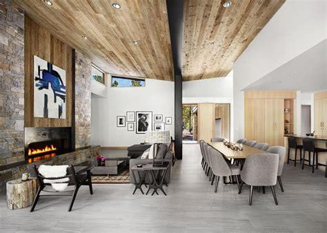 Sagemodern by Sagemodern Design A New Rustic Contemporary Home In Lake