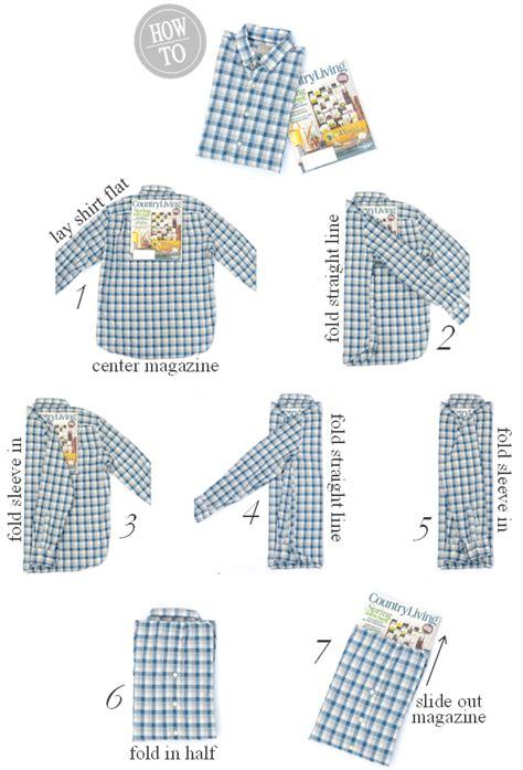iron twine how to fold a long sleeve shirt