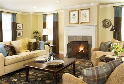 Living Room Living Room Decorating Ideas With Dark Brown Family Living Room Decorating Ideas