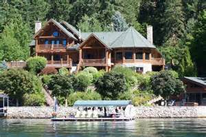 lakes homes hayden lake idaho waterfront homes for sale