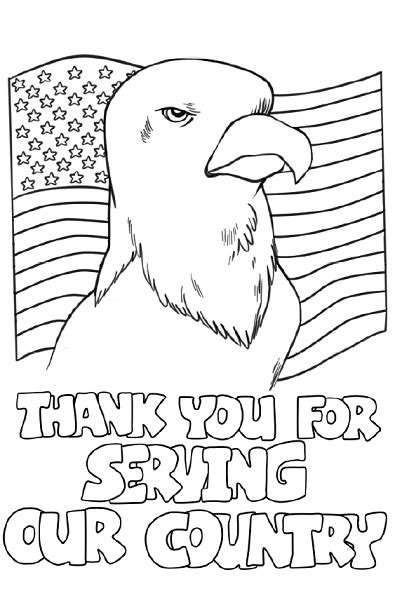 thank you for your service coloring page super teacher worksheets has cards that students can fold