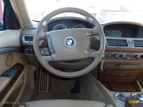 car manuals free online 2002 bmw 745 electronic toll collection 2002 bmw 7 series 745li sedan beige iii steering wheel photo 40726622 gtcarlot com