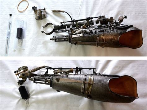 tattoo machine arm french tattoo artist gets world s 1st prosthetic arm that