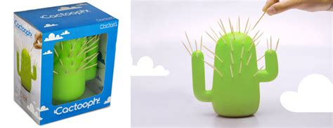 tooth pick holders cactooph cactus toothpick holder the green head