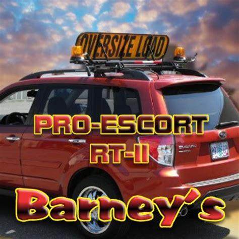 barneys pilot car equipment azlogisticscom
