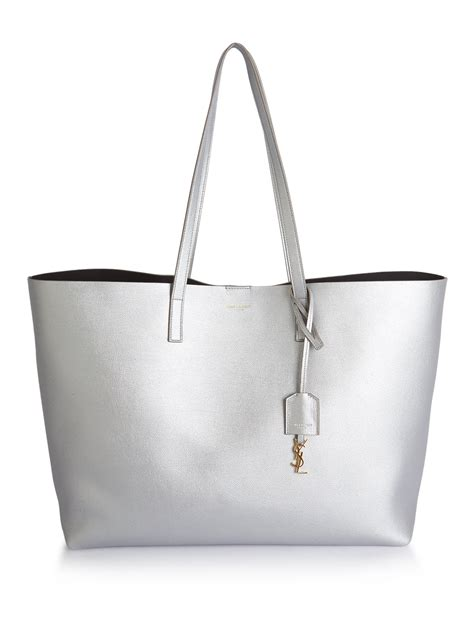 Large Shopping Tote large leather shopping tote bag white monogrammed clutch