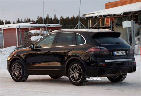 Porsche Cayenne Facelift 2014 by Spyshots Porsche Cayenne Facelift Sighted On Test Image