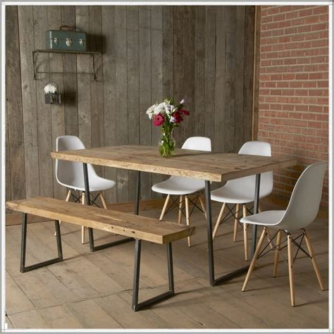 rustic dining room table with bench best 25 modern rustic furniture ideas on pinterest