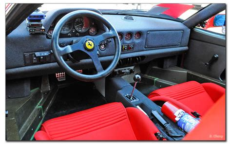 Ferrari F40 Interior photo   Brian Chang photos at pbase.com