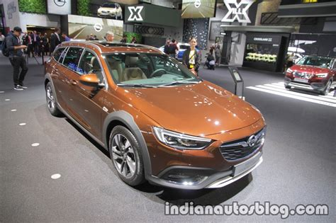 opel india opel insignia country tourer at iaa 2017 indian autos blog