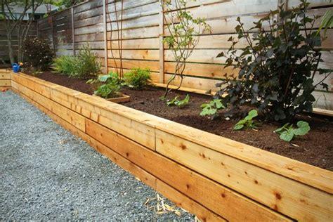 Building Raised Beds With Cedar Fencing