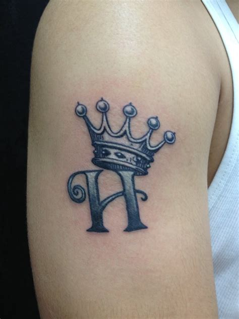 letter h designs tattoo more than 50 crown tattoos for your royal inking dreams