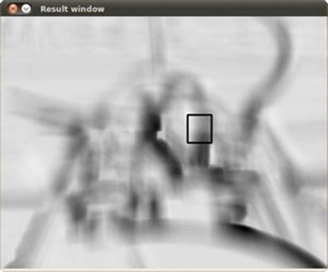 opencv template matching