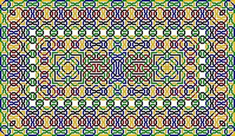 arabic pattern border islamic patterns border
