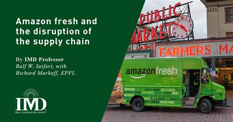 Fresh Mba Supply Chain In Karachi by Fresh And The Disruption Of The Supply Chain