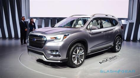 2019 Subaru Suv by 2019 Subaru Ascent Suv Teases Awaited 3 Row Return
