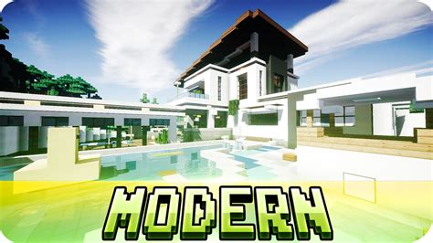 modern house map design minecraft beautiful modern house design map w download youtube