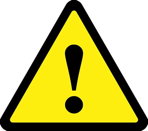 warning sign triangle warning sign clipart best