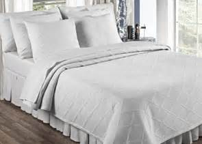 King Size Bedding In Inches Europa Linens Evora Matelasse Bedding King Sham Size