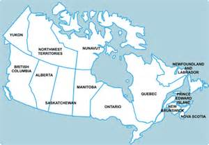 map of canada with labels a labeled map of provinces and territories is available here