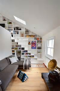 Images Of Built In Bookcases Compact Stairs The First Step Towards A Happy Tiny Home